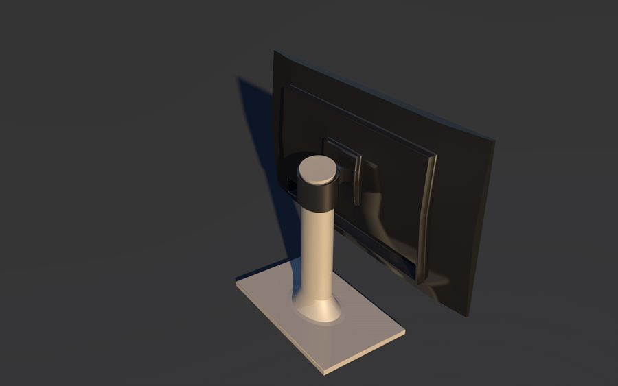 Monitor royalty-free 3d model - Preview no. 4