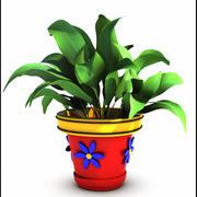 Plant Cartoon 3d model