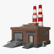 Old Factory Medium 3d model