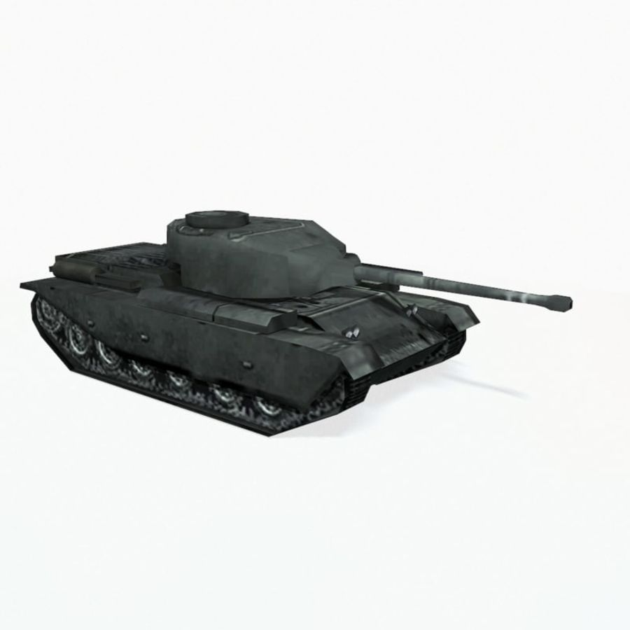 Centurion tank royalty-free 3d model - Preview no. 8