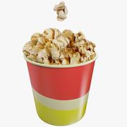 Popcorn Small 3d model