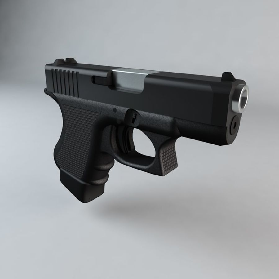 Glock 27 royalty-free 3d model - Preview no. 1