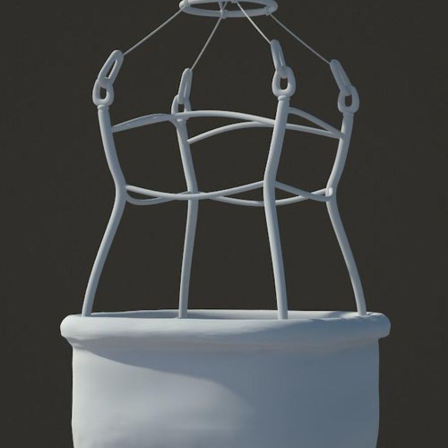 Santa Claus Balloon royalty-free 3d model - Preview no. 6