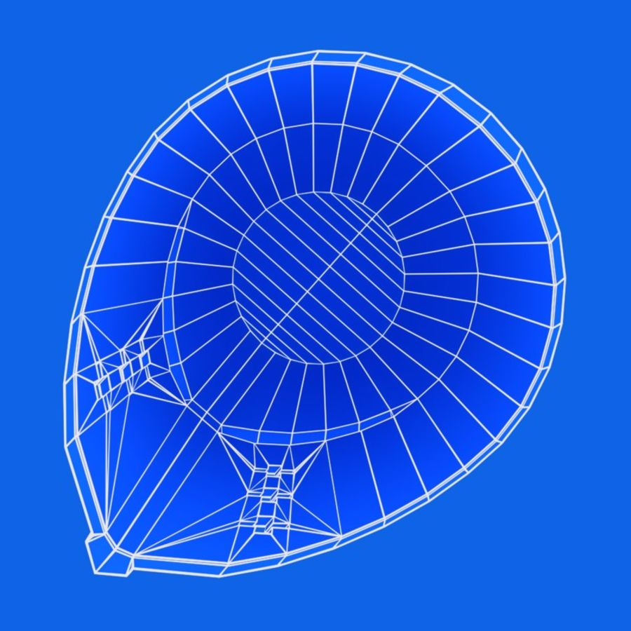 Helmet royalty-free 3d model - Preview no. 12