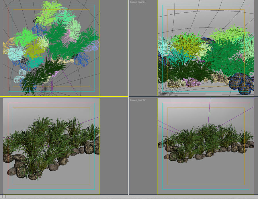 Bush_54 royalty-free 3d model - Preview no. 8