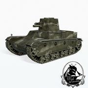 Vickers 6-Ton 3d model