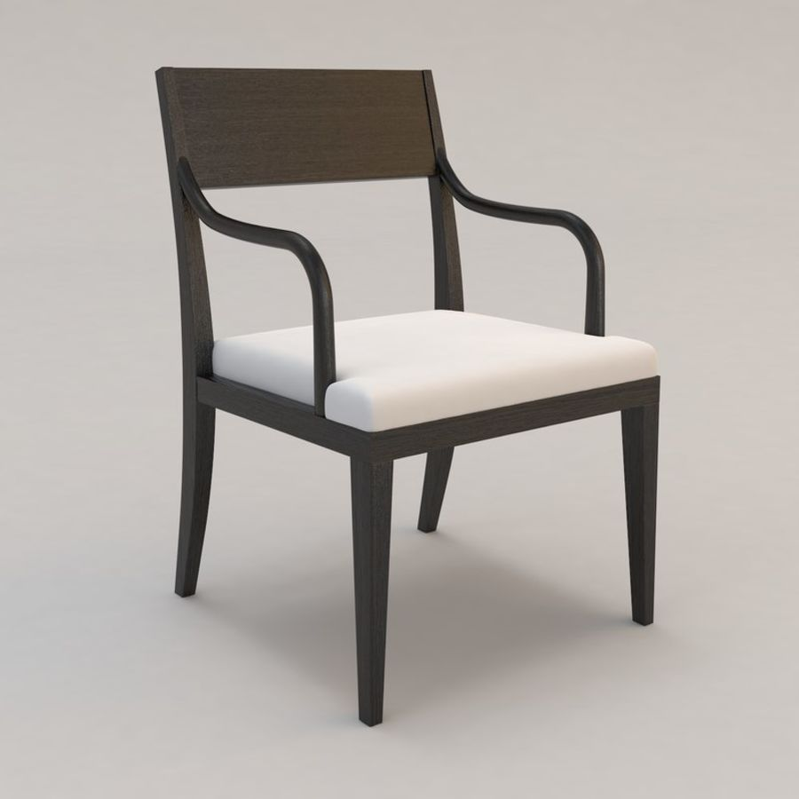 Olon Arm Chair By Christian Liaigre 3d Model 20 Obj