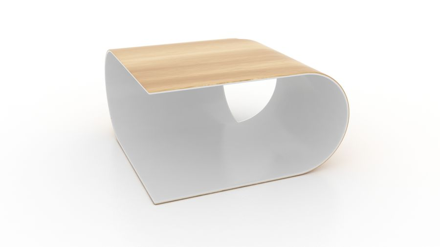 Contemporary Coffee Table royalty-free 3d model - Preview no. 1