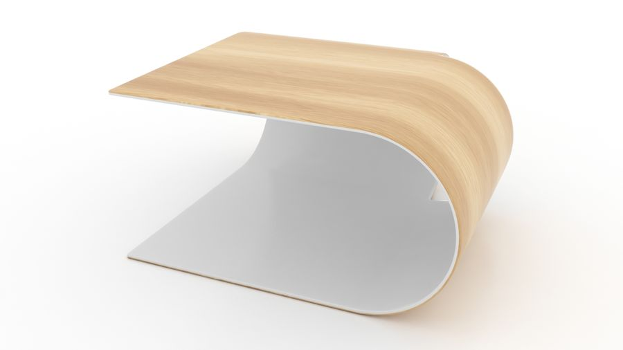 Contemporary Coffee Table royalty-free 3d model - Preview no. 4