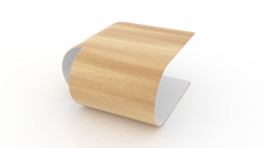 Contemporary Coffee Table royalty-free 3d model - Preview no. 2