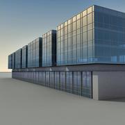 Modern Building 082 3d model