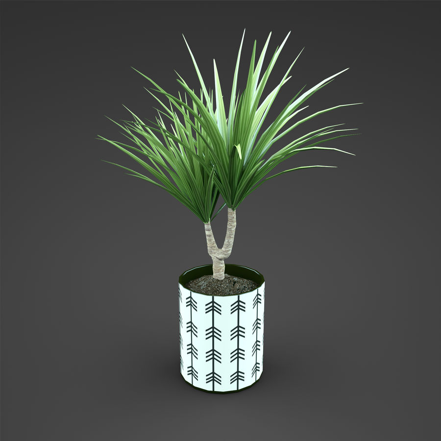 Set Home Plant royalty-free 3d model - Preview no. 27