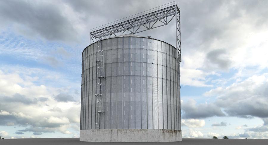 Industrial grain silo 3D Model $44 -  obj  fbx  max - Free3D