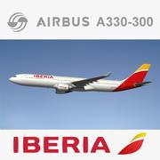 Airbus A330 Iberia NL 3d model
