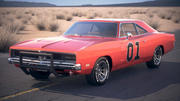 Dodge Charger 1969 General Lee 3d model