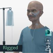 Patient Old Man full Project 3d model