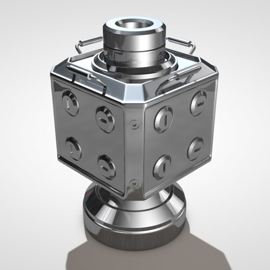 Scifi Container royalty-free 3d model - Preview no. 1