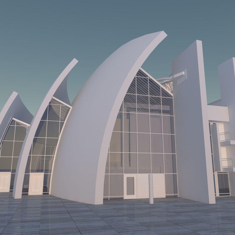 Jubilee Church 3D Model $25 -  c4d  fbx  obj  skp  dxf  dae  3ds