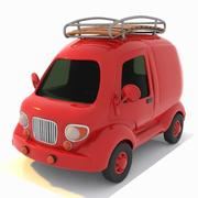 Toon Travel Car 2 3d model