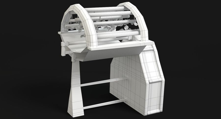 Sci-fi Hydroponics royalty-free 3d model - Preview no. 11