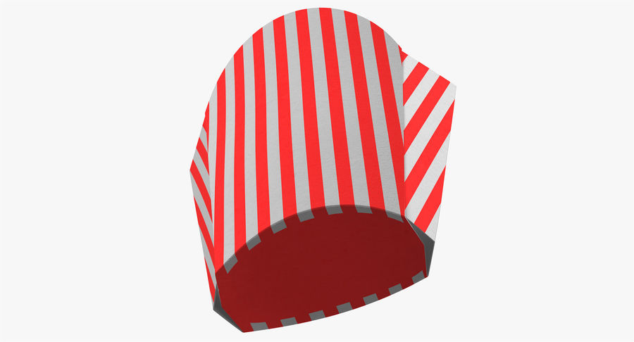 French Fry Box Empty 3 3D Model $19 - .obj .fbx .max - Free3D