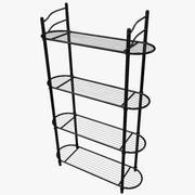 Metal Rack 3d model
