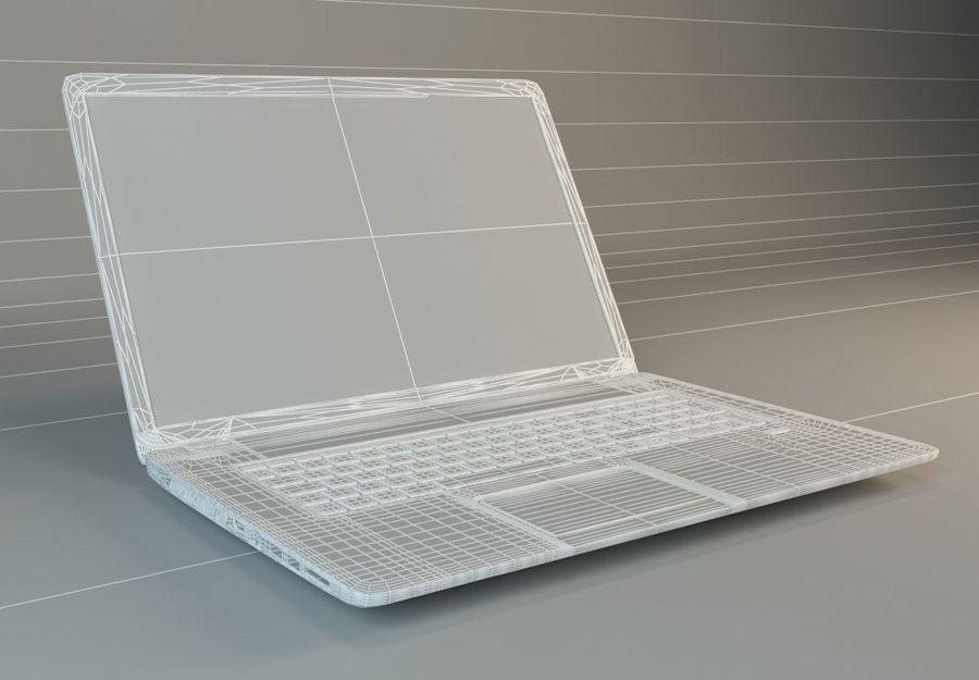 笔记本电脑 royalty-free 3d model - Preview no. 4