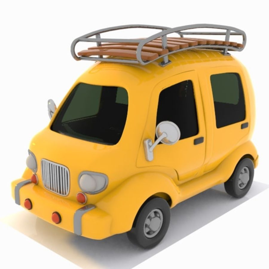 Toon Travel Car royalty-free 3d model - Preview no. 1