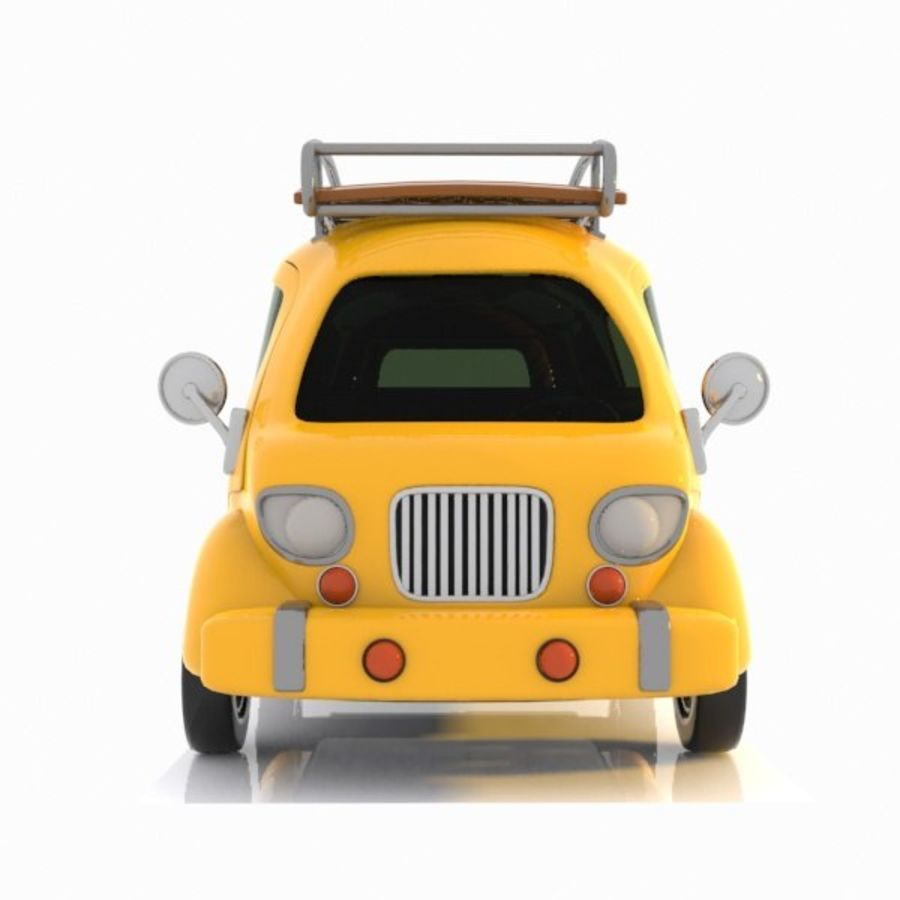 Toon Travel Car royalty-free 3d model - Preview no. 11