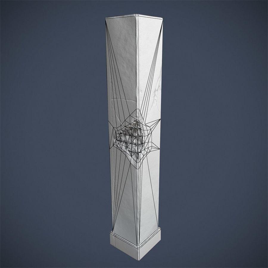 Pillar royalty-free 3d model - Preview no. 6