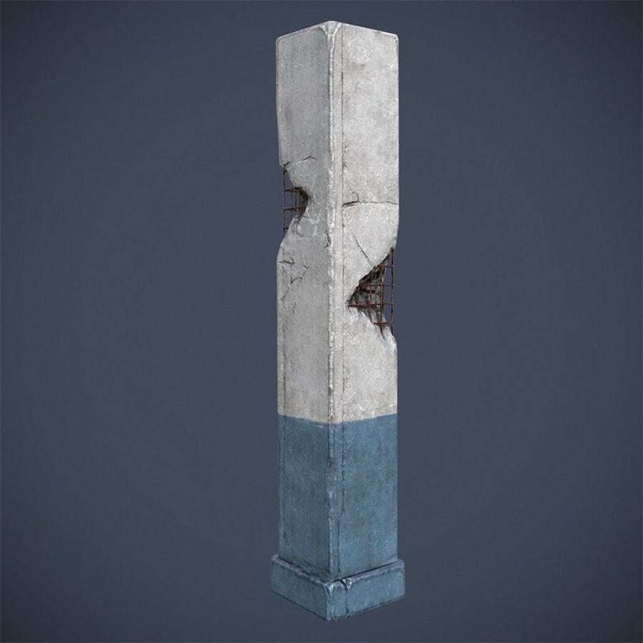 Pillar royalty-free 3d model - Preview no. 3