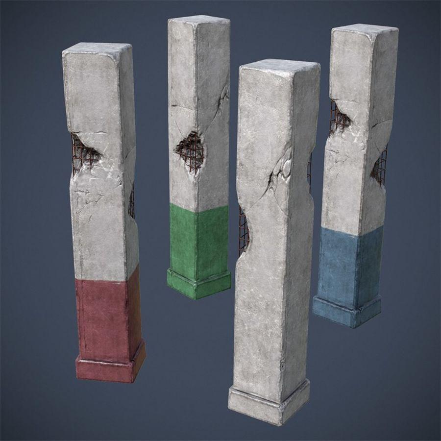 Pillar royalty-free 3d model - Preview no. 1