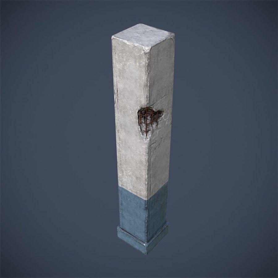 Pillar royalty-free 3d model - Preview no. 4