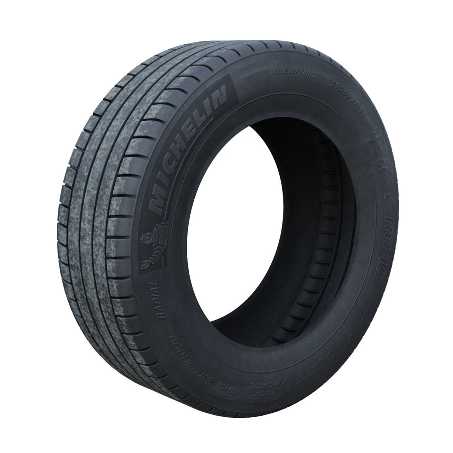 Tire royalty-free 3d model - Preview no. 1