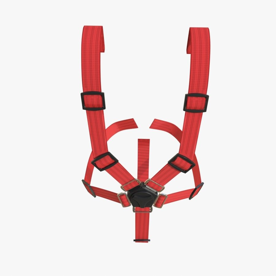 Safety Belts 01 royalty-free 3d model - Preview no. 5