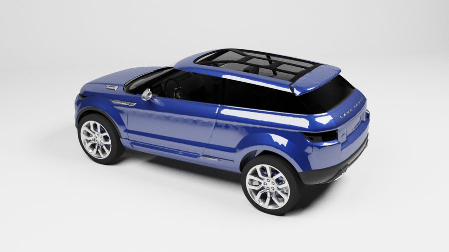 Land Rover royalty-free 3d model - Preview no. 3