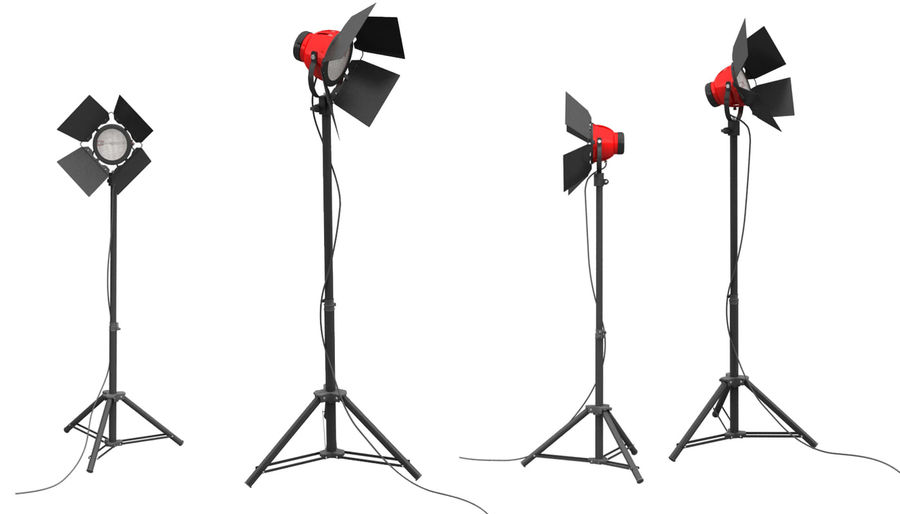 studio light royalty-free 3d model - Preview no. 1