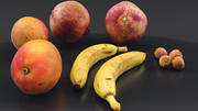 Früchte 3d model