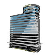City Office Building 6 3d model