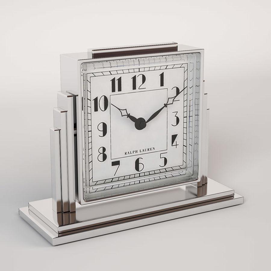 Ralph Lauren Art Deco Athena Clock 3D Model $16 - .max .obj .fbx ...