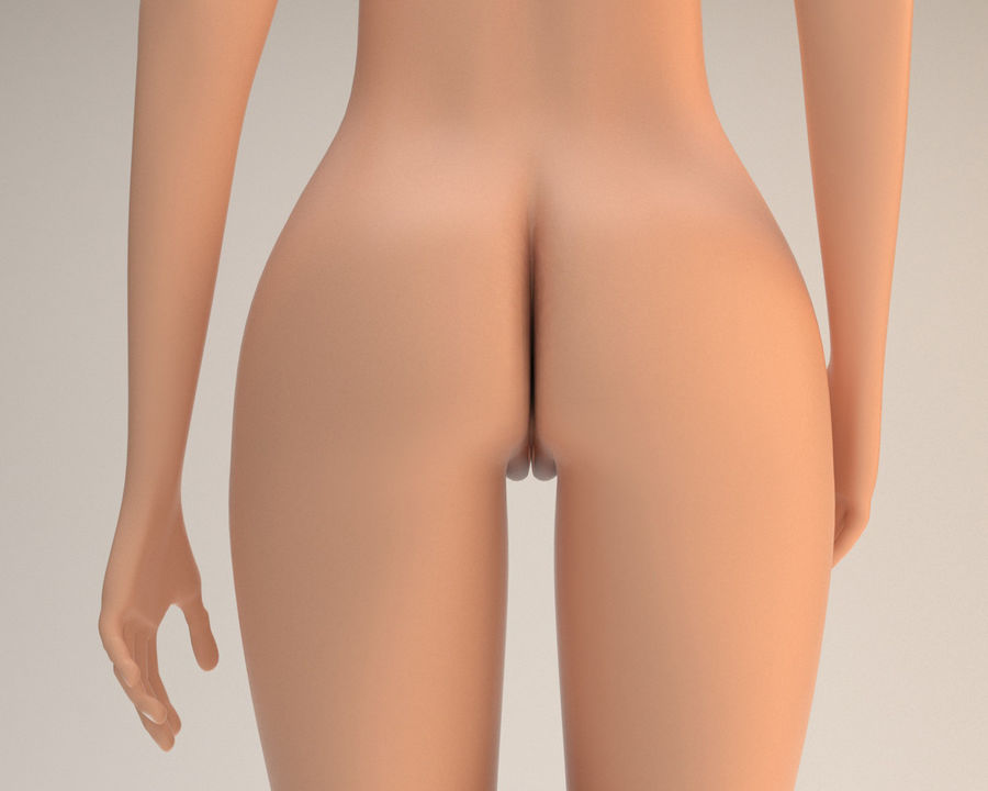 Sexy female 3d model royalty-free 3d model - Preview no. 10
