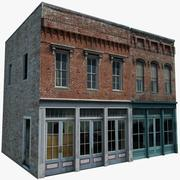 Residential Building or Store 3d model