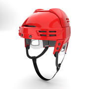 Ice Hockey Helmet Model 3d model