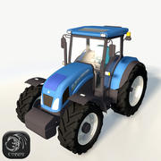 New Holland tractor TD5 3d model