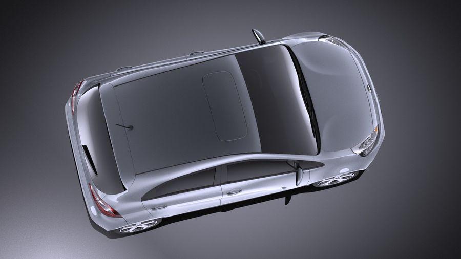 Kia Rio 2014 5door VRAY royalty-free 3d model - Preview no. 8