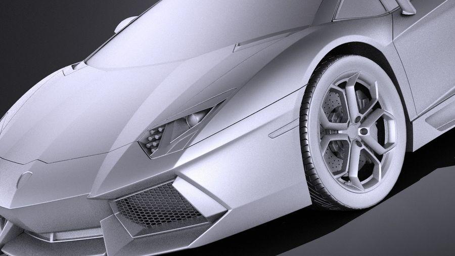 Lamborghini Aventador LP700-4 2016 VRAY royalty-free 3d model - Preview no. 10