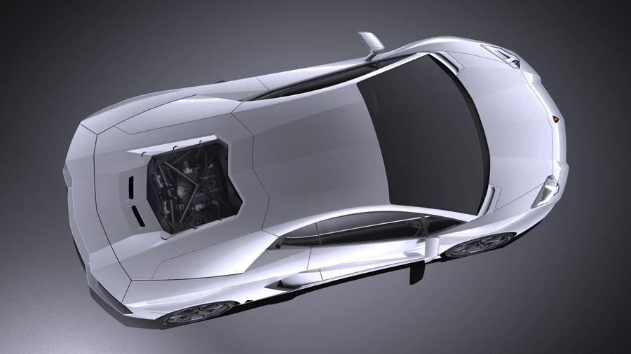 Lamborghini Aventador LP700-4 2016 VRAY royalty-free 3d model - Preview no. 8