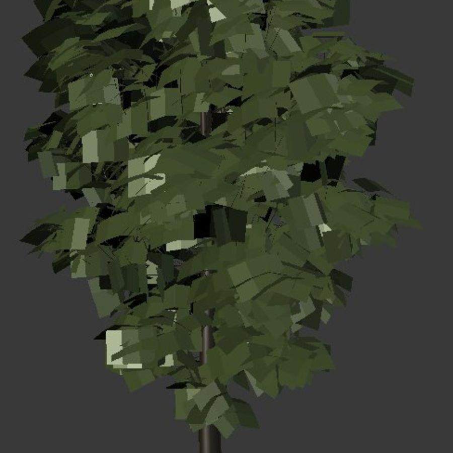 Wysokie drzewo royalty-free 3d model - Preview no. 3