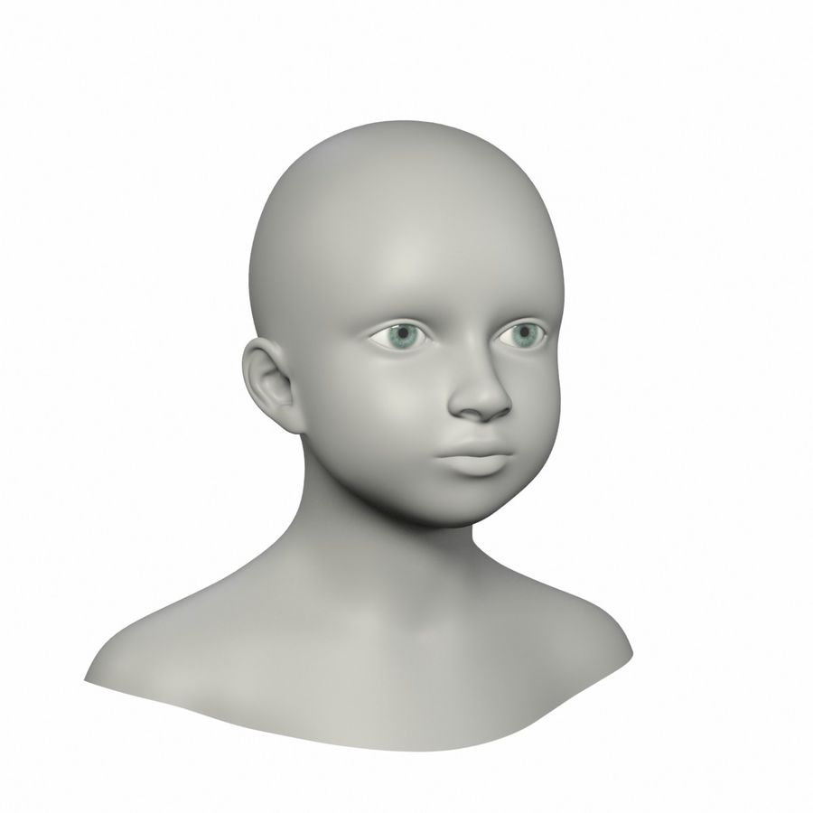 Голова royalty-free 3d model - Preview no. 2