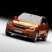 Voiture de SUV 3d model